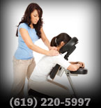 chair massage corporate massage onsite massage (619) 220-5997